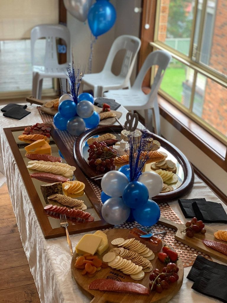 party catering, catering newcastle, catering maitland